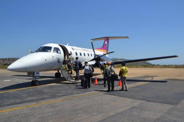 L'avion utilisé par Madagasikara Airways