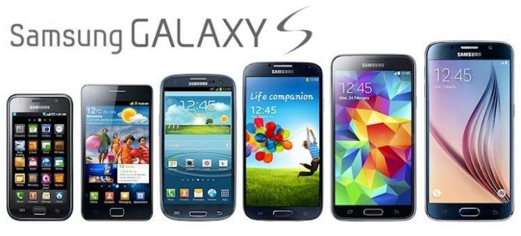 Gamme Samsung Galaxy S