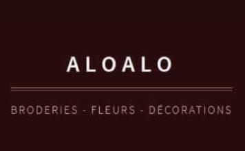 Aloalo, broderie, fleurs, décoration