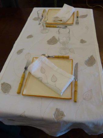 Linge de table Caramiel