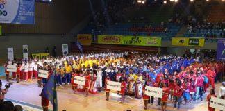 Cérémonie de clôture des 10e CJSOI, athlètes