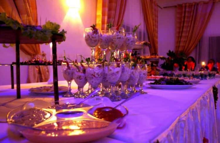Buffet et banquet à l'Espace Cordis
