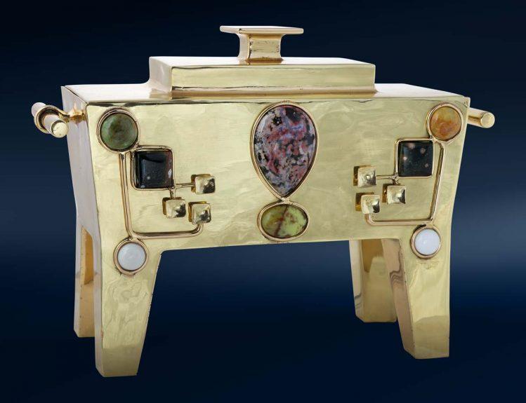 Boîte décorative, par La Ferronnerie d'Art