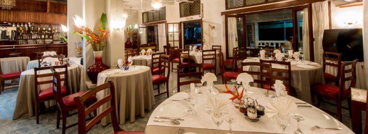 Salle de restaurant du Génération Hôtel