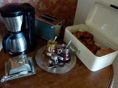 Breakfast hôtel Lokanga