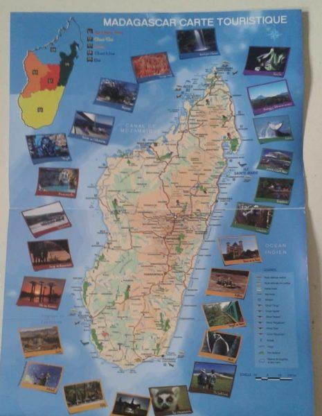 île aux trésors carte