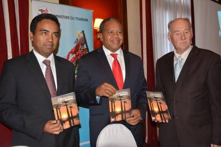 Présentation de l'Île aux trésors Ratsiraka, Ministre du Tourisme