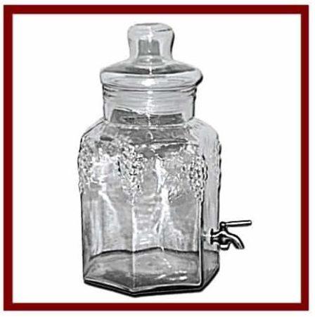 Inbox bouteille en verre