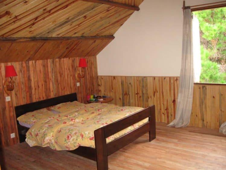 Chambre double au Refuge Suisse
