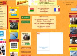 Tonga Soa, petites annonces à Madagascar et dans le monde