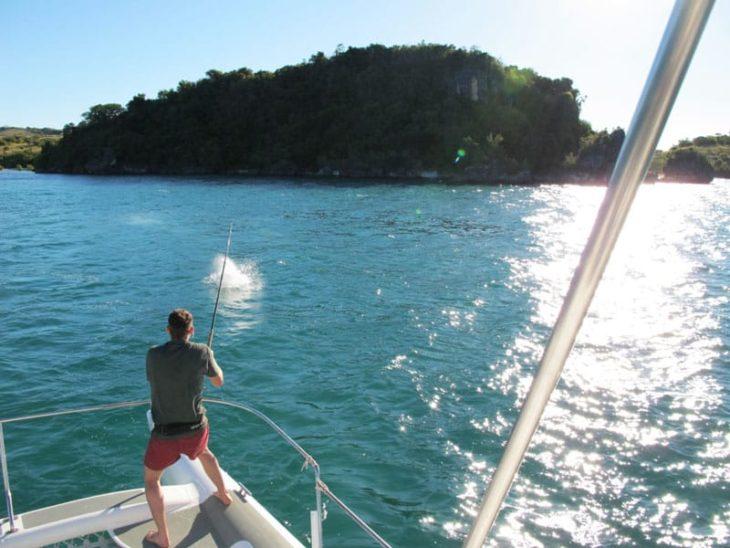 Ulysse Explorer, pêche