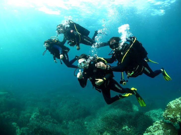 Ulysse Explorer, plongée