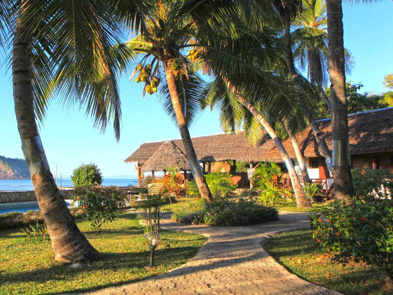 Ylang hôtel, chambres, bungalows et restaurant à Nosy Be