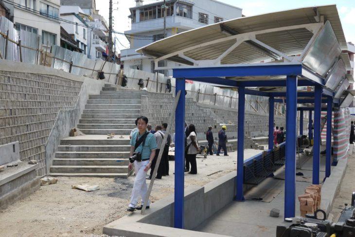 Mise en place d'infrastructures dans la ville IMV