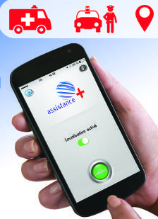 Application mobile Assistance Plus