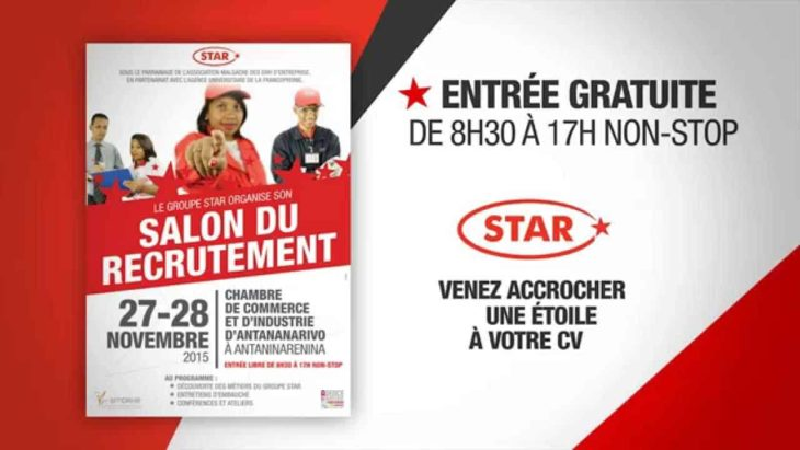 Affiche Apiqa Groupe Star