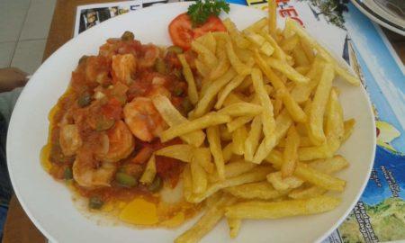L'Aqua Rhum crevettes