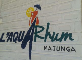 L'Aqua Rhum, bar restaurant Majunga
