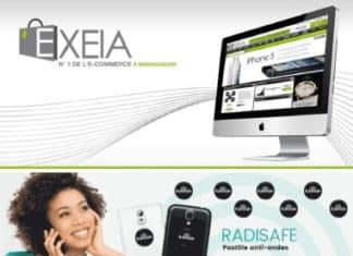 Site web Exeia