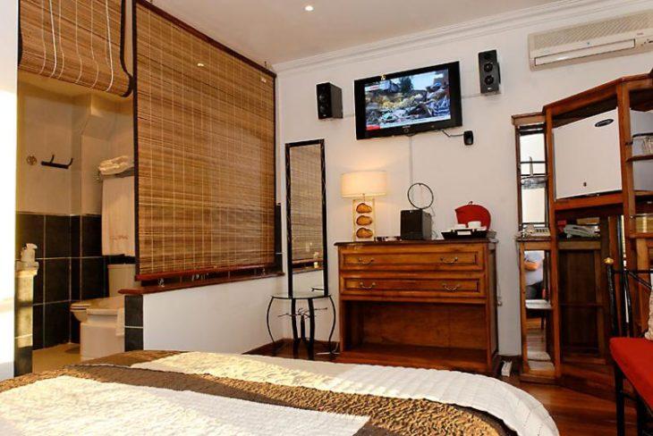 Chambre de l'hôtel Brajas