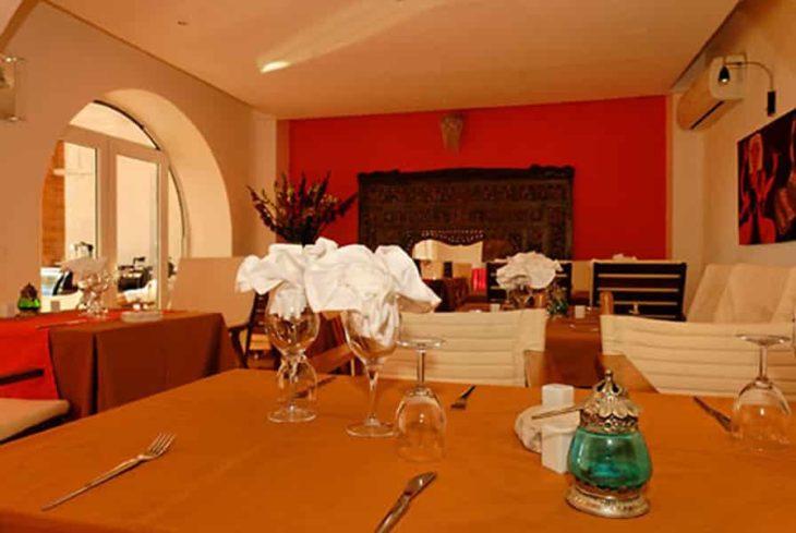 Restaurant de l'hôtel Brajas