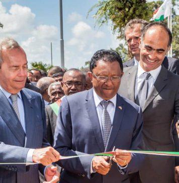 Inauguration de Natema Président de le République Hery