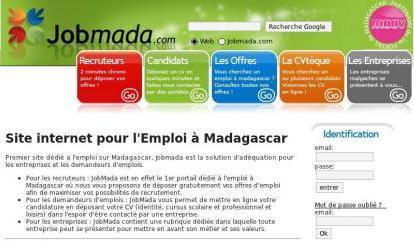 Site web de Jobmada