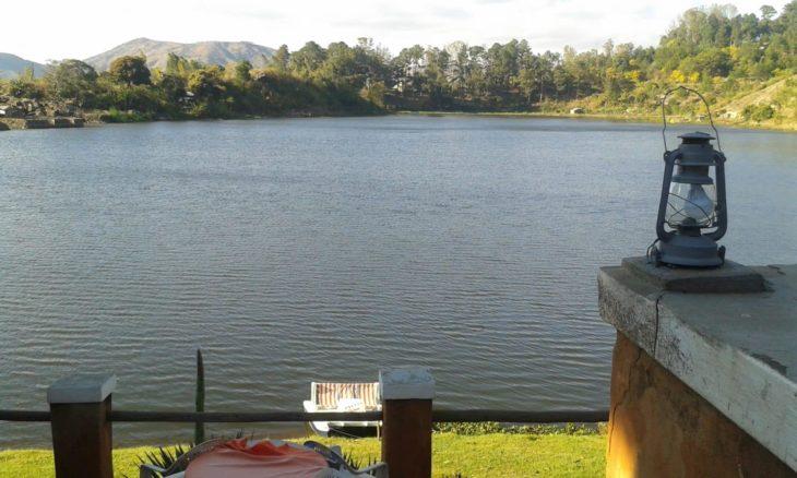 La Terrasse Ampefy vue sur le lac