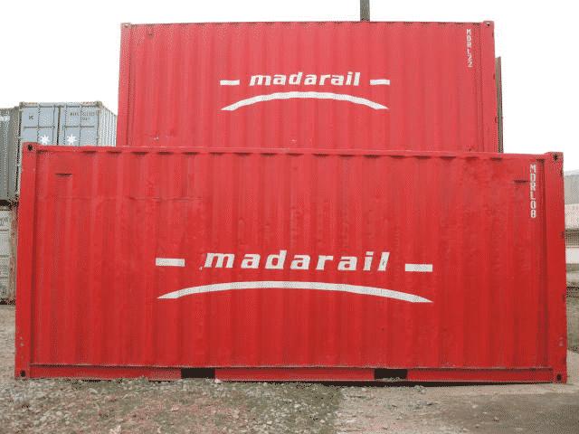 Conteneur Madarail