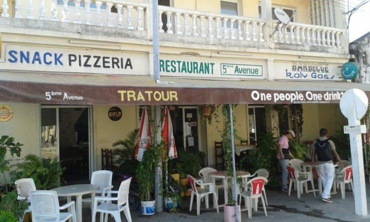 Restaurant 5e Avenue à Majunga
