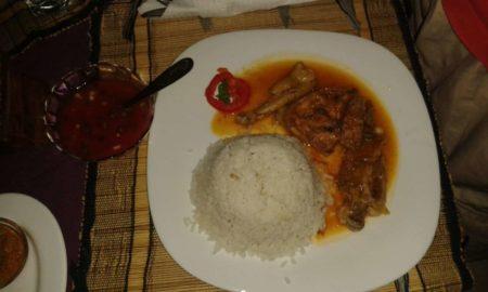 Restaurant 5e avenue Poulet sauce