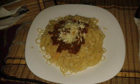 Restaurant 5e avenue Spaghetti bolognaise