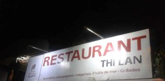 Restaurant Thi Lan à Majunga