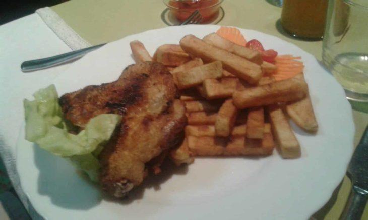 Restaurant Thi Lan Poulet frites