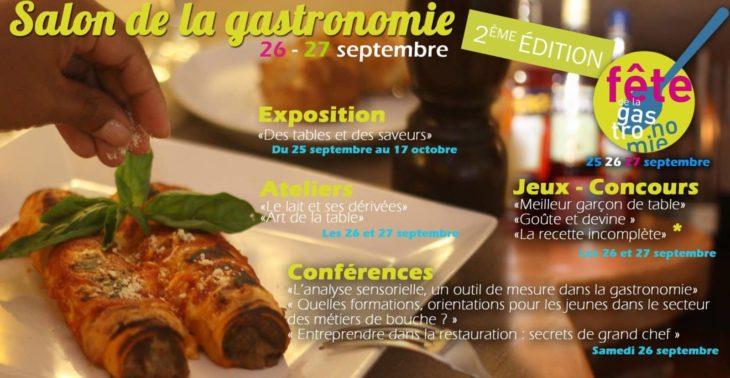 Salons Madagascar, salon de la gastronomie