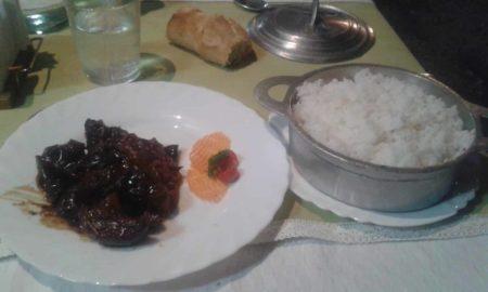 Restaurant Thi Lan Porc coco et riz