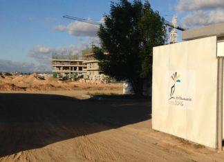 L'entrée du village de la Francophonie 2016