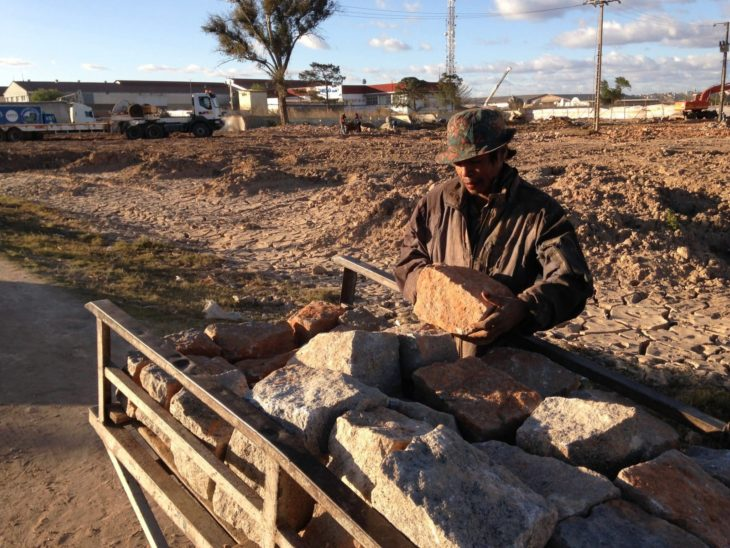 Le village de la Francophonie 2016 en chantier