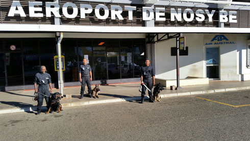 CSPI à l'aéroport de Nosy Be