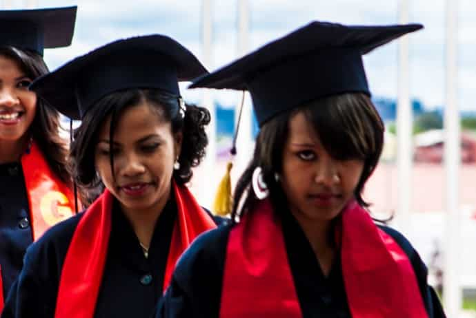 Étudiantes de l'université GSI