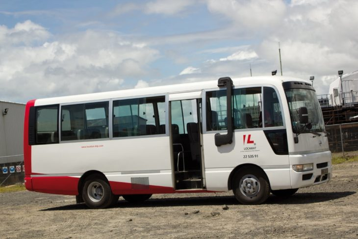 Transport de personnel par Locamat