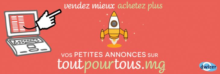 Affiche publicitaire de Toutpourtous