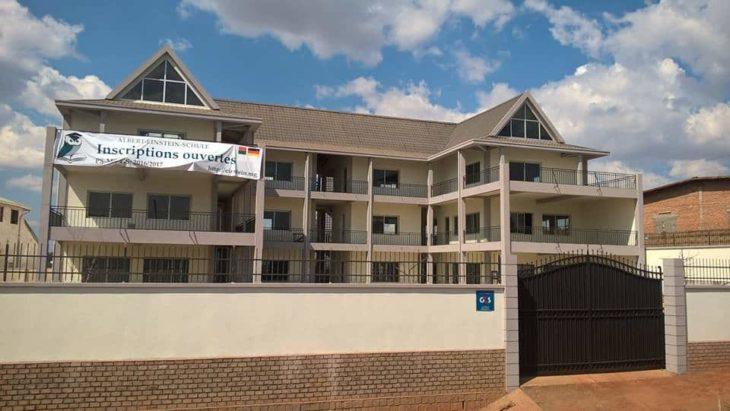 Bâtiment de l'Albert Einstein Schule