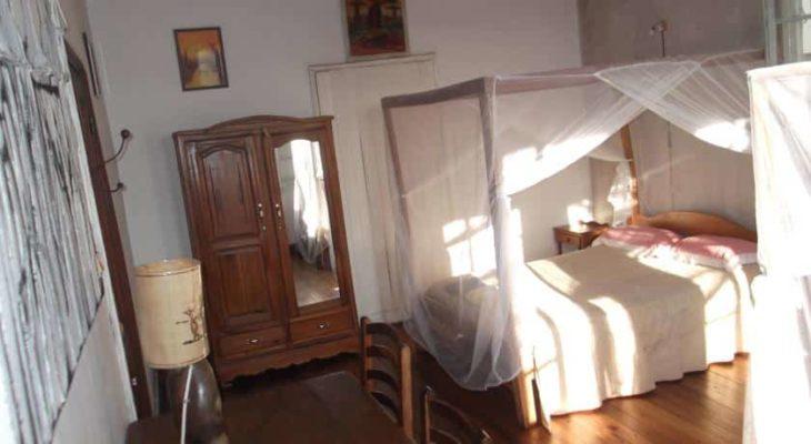 Chambre de la maison d'hôtes Le Karthala
