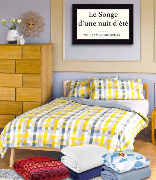 Literie et mobilier pour chambre habitat