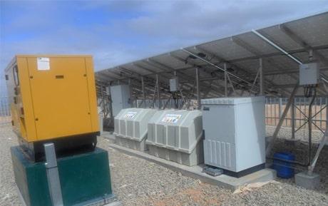Installation hybride EDM