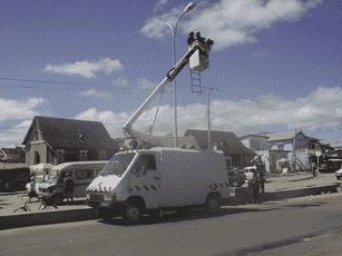EGEDEC Installation d'éclairage public