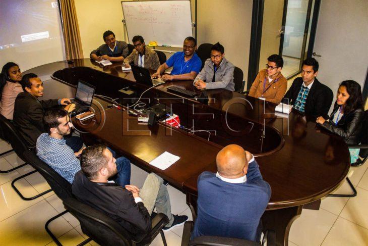 Salle de réunion d'eTech