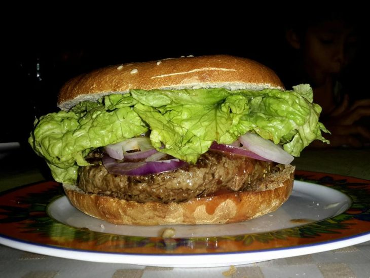 Hamburger chez Fatboys Burger