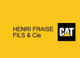 Henri Fraise, représentant exclusif CaterpillarLogo Henri Fraise